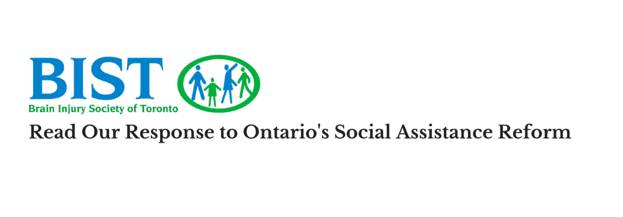 Response to Social Assistance Reform