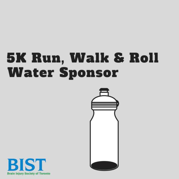 BIST 5k Water sponsor
