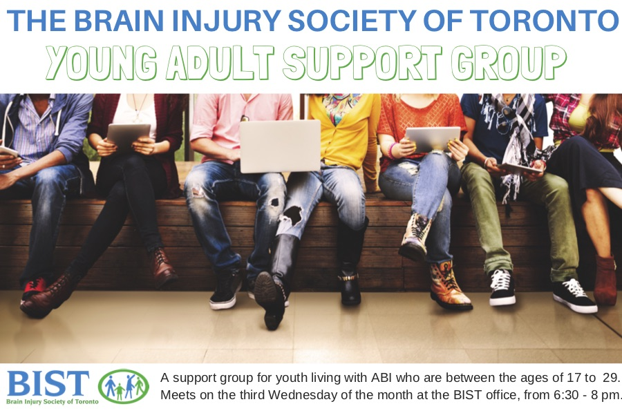Brain Injury Society of Toronto Young Adult Support Group