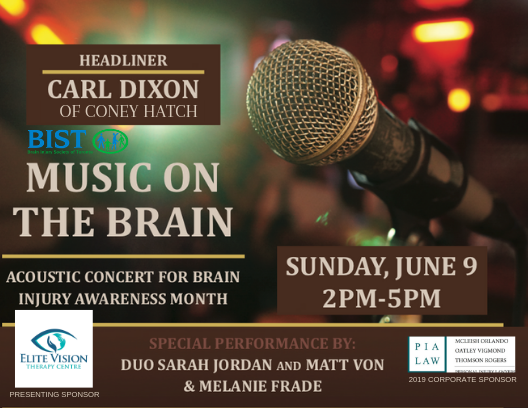 Music on the Brain Acoustic Concert on June 9