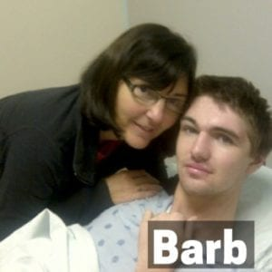 Barb and her son Chris