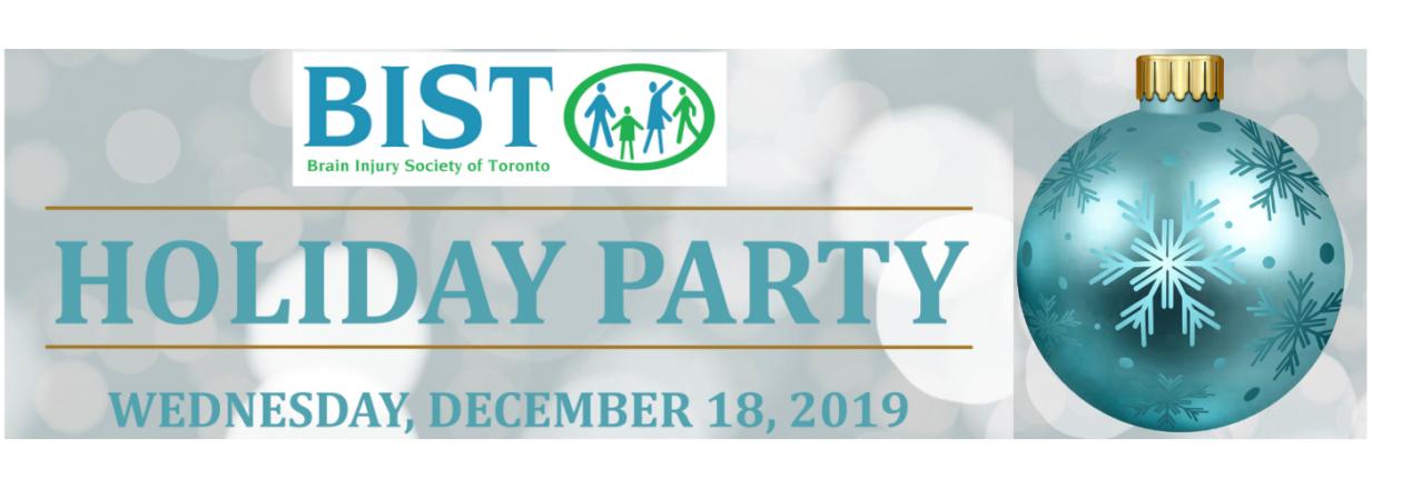 BIST Holiday Party December 18 Frankland Community Centre