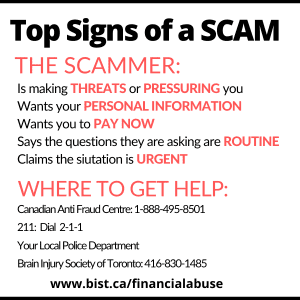 Top Signs of a Scam