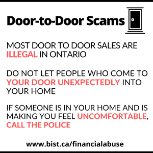 Door to Door Scams