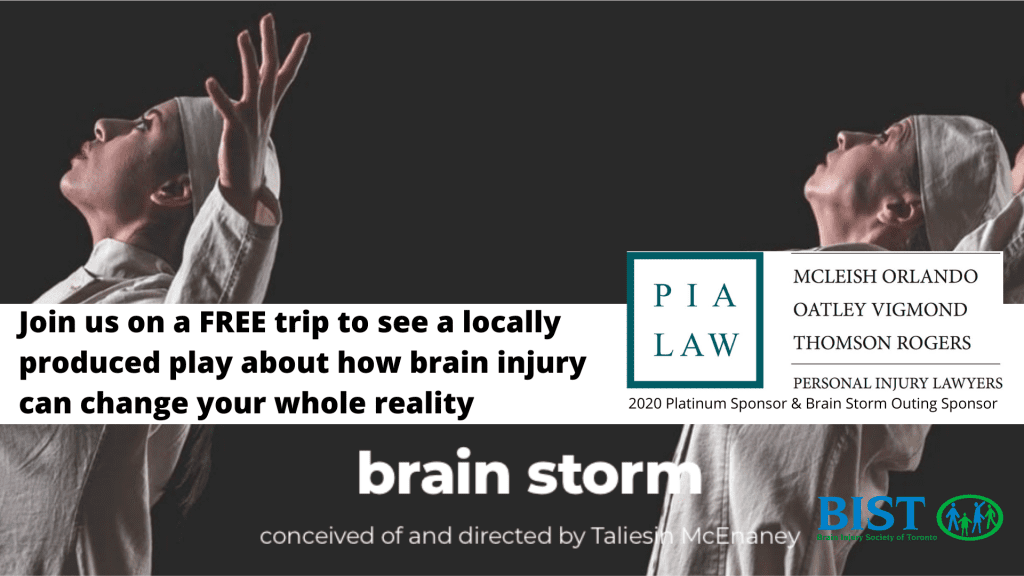 Join us on a FREE trip to see a locally produced play about how brain injury can change your whole reality