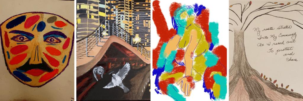 Virtual Expressive Art Show