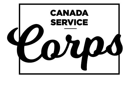 canada service corps logo