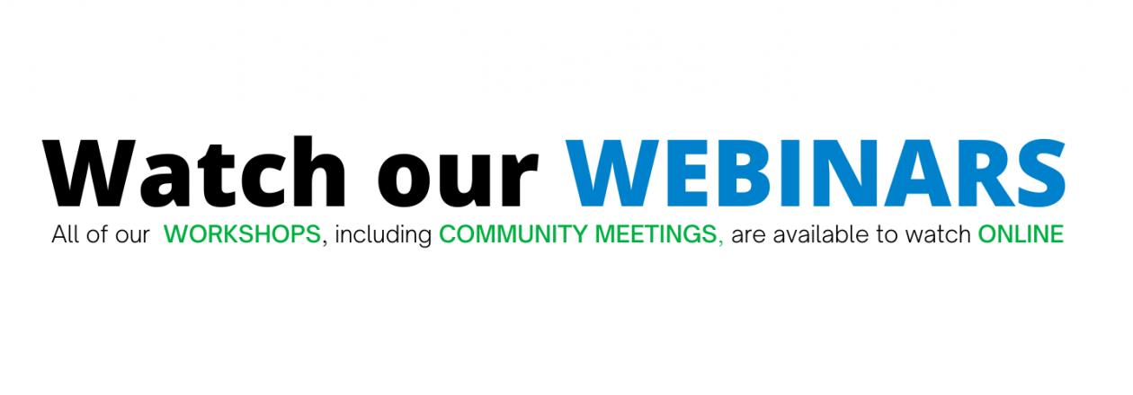 Watch our webinars slider