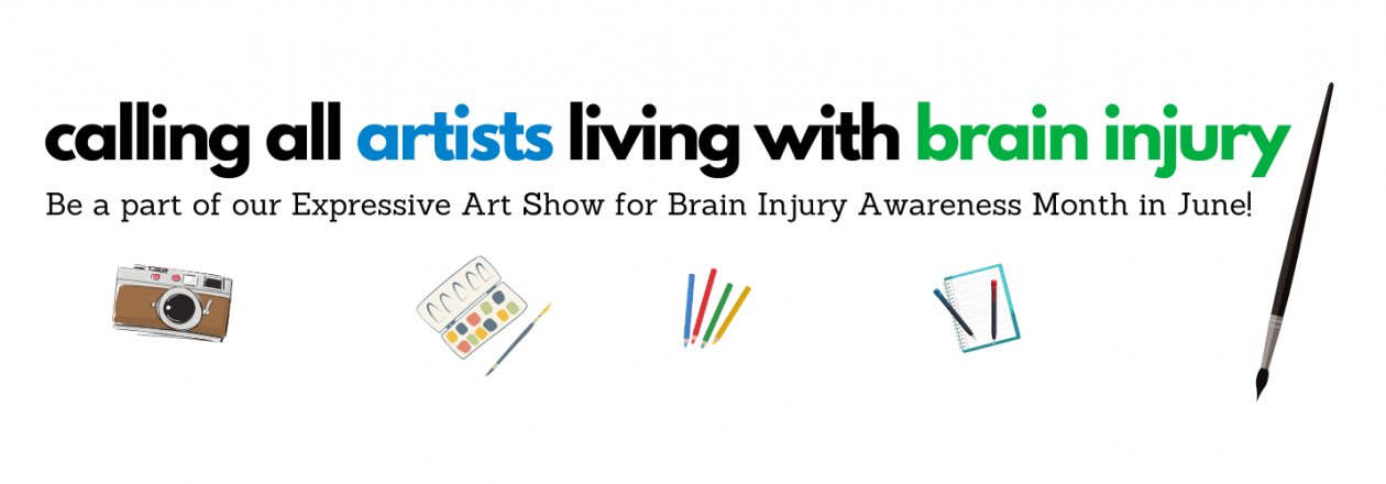 calling all artists who live with brain injury