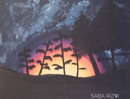 Saba Rizvi art
