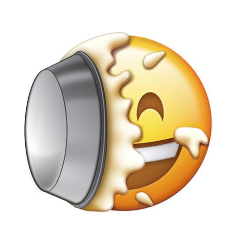 pie in the face emoji