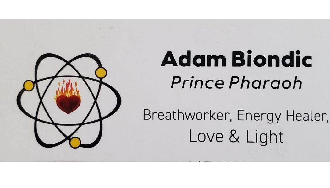 Business card for Adam Biondic
